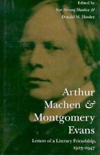 Arthur Macon e Montgomery Evans: le lettere di un'amicizia letteraria, 1923-47.
