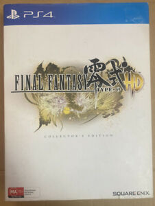 1916 Final Fantasy Type-0 Collector's Edition Big Box PlayStation 4-Complete