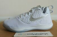 DS Nike Lebron Witness 3 White Chrome Platinum Mens Basketball iii AO4433-101