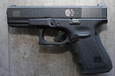 Rubber Textured Hand Gun Pistol Grip Tape PUNISHER fits Gen 4 Glock 19 23 25 32