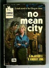 NO MEAN CITY, rare British Corgi #454 crime teen JD sleaze gga pulp vintage pb