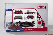 H0 Piko Startset Westernzug Dampflok + 3 Wagen + Gleisoval Piko 57140