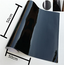 Gloss Black Vinyl Wrap-Avery Dennison Film Foil Sheet Sticker Decal SW900