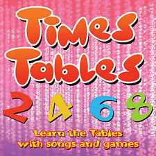 Times Tables: Learn the Tables with Songs and Games (CD-Audio, 2007) E-ROZ-108