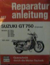 * Suzuki GT 750 J K L M A 3 Zylinder 1971 - 1976 Reparaturanleitung  *