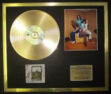 LED ZEPPELIN IV COLOUR PHOTO / PIC CD GOLD DISC RECORD LP FREE P+P