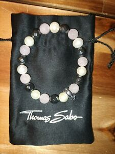 Thomas Sabo Charm-Armband Damen Perlenarmband X0188-581-7 Gr. L