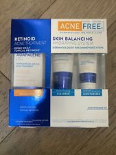 AcneFree Skin Balancing Hydrating System with Adapalene Gel 3 Piece Kit NIB