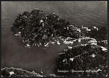 AD1161 Genova - Provincia - Portofino - Panorama dall'aereo