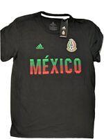Adidas Mexico National Team Men's Color Pride Performance T-Shirt Medium Black