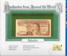 World Banknotes Gibraltar 1 pound 1979 P 20b GEM UNC Prefix K