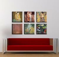 TIME4BILD GUSTAV KLIMT Der Kuss Tannenwald BILDER LEINWAND GICLEE ART Kunst