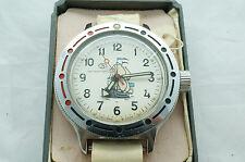 Vintage CCCP Russian Soviet VOSTOK AMPHIBIAN Watch 1992 , New Old Stock