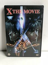 X The Movie Manga Anime DVD NL Subs Dutch Version