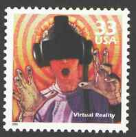 US. 3191 j. 33c. Virtual Reality. Celebrate The Century. MNH. 2000