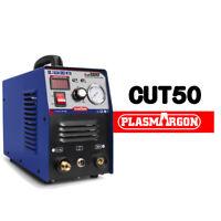 Plasma Cutter CUT50 Inverter 110/220V Dual Voltage Plasma Cutting + Consumables