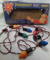 Vintage Paramount Christmas Tree Lights - String of 7 - Model #1000K