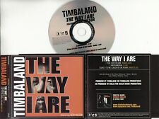 TIMBALAND/KERI HILSON The Way I Are 2007 UK 3-trk promo CD inc instr TIMBALAND3