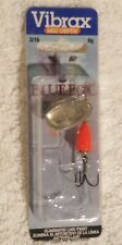 Blue Fox Flo-Red Vibrax Painted Series Inline Spinner 3/16oz Panfish &Trout Lure