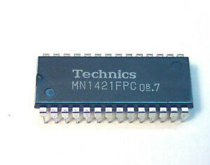 MN1421FPC INTEGRATED CIRCUIT - Technics SL-3K turntable player CPU DIP28