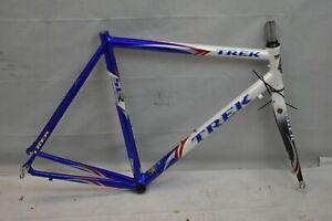 1998 Trek SLR Alpha Race Road Bike Frame Set Large 60cm Red White Blue Charity!!