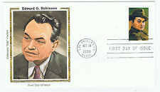 Edward G Robinson USPS First Day Cover Colorado Silk Cachet 2000 Stamp Hollywood