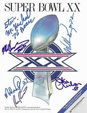 1985 CHICAGO BEARS signed autographed SUPER BOWL XX PROGRAM w/COA! SINGLETARY