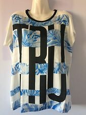 Trussardi T-shirt Donna/Women Tg.XL/48 Tg.L/46 Nuova Originale Idea Regalo