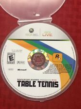 Rockstar Games Presents Table Tennis (Microsoft Xbox 360, 2006)DISC ONLY