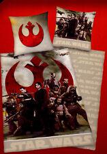 Linon Bettwäsche Star Wars  Wendemotiv 135 x 200 100% Baumwolle m. RV Rogue one