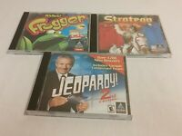 Hasbro Pc Game Win 95 Frogger Stratego Jeopardy 2nd Edition