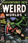 Adventures Into Weird Worlds 22 Comic Book Cover Art Giclee Repro on Canvas