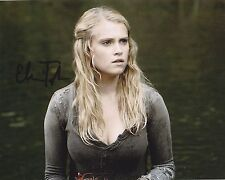 The 100 Actress Eliza Taylor Autographed 8x10 Photo (Reproduction)  1