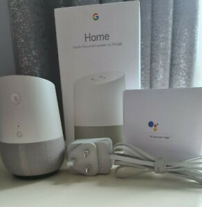 Google Home Assistant Wireless Smart Speaker Voice-Activated Fully Working Boxed