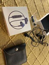 Bluetooth Headphones Blue Cordless L17