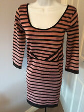 Polyester Wiggle, Pencil Striped Dresses for Women