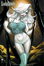 "Lady Death Scorched Earth #1 ""Naughty"" Ale Garza  Ltd. Ed . Comic Book"
