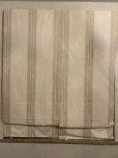 Pottery Barn 26x64 Riveria striped Curtains, Used Liek new