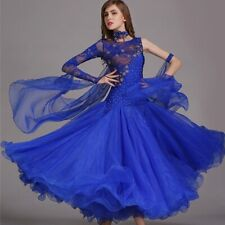 Ballroom Dance Dresses Standard Ballroom Standard Dance Waltz Dress Sequins
