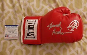 Jared Anderson signed autographed Everlast boxing glove PSA COA #AJ44060