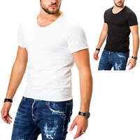 Jack & Jones Herren T-Shirt Kurzarmshirt O-Neck Basic Shirt Sommershirt SALE %