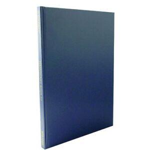 A4 Manuscript Books Hardback Feint Ruled 192 Page Notebook Memo Pad Blue&Red