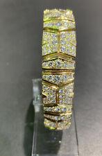 Armband Cartier  Paris Brillanten Ca.10ct. 18 Kt. (750/1000) 61,54g. 18,5cm