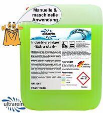 10 l Liter Industriereiniger extra stark Reinigungsmittel Rußreiniger Ölreiniger