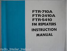 Yaesu Fm Repetidor (Original Manual de instrucciones sólo)....... radio_trader_ireland.