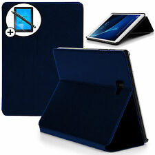 Custodia COVER Smart Blu Samsung Galaxy Tab a 10.1 sm-p580 S Pen Stilo ATT PROT.