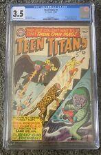 TEEN TITANS #1 CGC 3.5 BATMAN WONDER WOMAN FLASH APPS NICK CARDY CVR & ART 1966