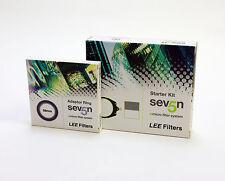 Lee Filters Seven5 Starter Filter Kit+Lee 58mm Adapter Ring.Brand New