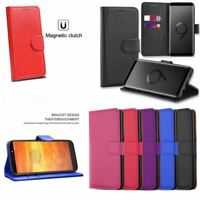 For Samsung Galaxy Note9 High Quality Leather Wallet Flip Book Stand Case Cover