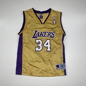 VTG Champion Los Angeles Lakers Shaquille O'Neal Jersey Size Youth Medium